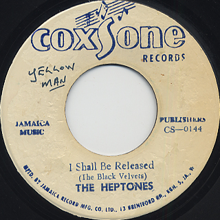 Heptones / I Shall Be Released