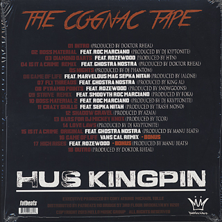 Hus Kingpin / The Cognac back