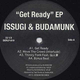 ISSUGI & BUDAMUNK / Get Ready EP back