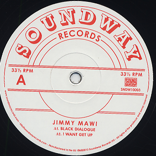 Jimmy Mawi / S.T. (10inch)
