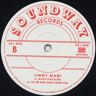 Jimmy Mawi / S.T. (10inch) back