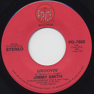 Jimmy Smith / Why Can't We Live Together back