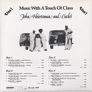 John Heartsman And Circles / Music Of My Heart back