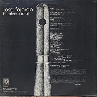 Jose Fajardo / El Talento Total back