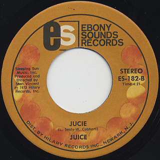 Juice / Walk On By c/w Juice back