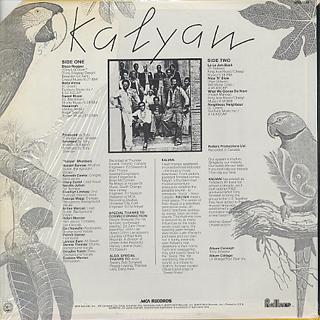 Kalyan / S.T. back