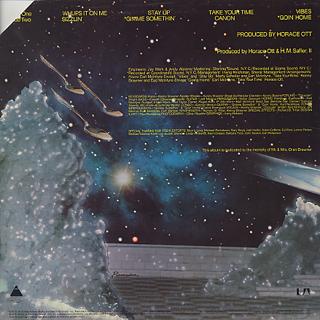 Kenny Brawner & Raw Sugar / S.T. back