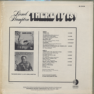 Lionel Hampton / There It Is! back
