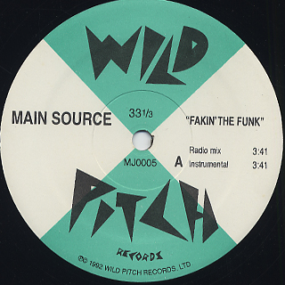Main Source / Fakin' The Funk ('96) back
