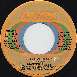 Master Fleet / Let Love Stand front