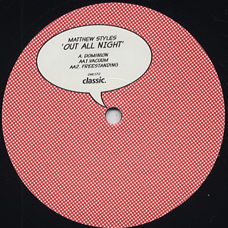 Matthew Styles / Out All Night