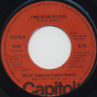 Maze Featuring Frankie Beverly / Lady Of Magic back