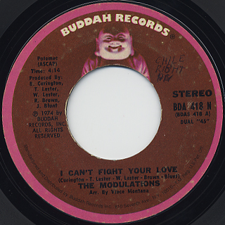 Modulations / I Can't Fight Your Love