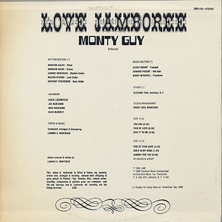 Monty Guy / Love Jamboree back