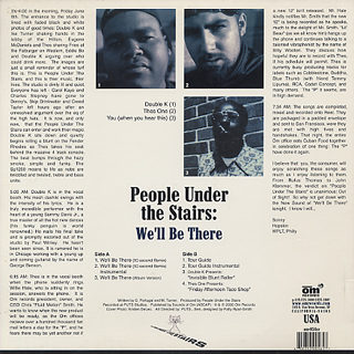 People Under The Stairs / We'll Be There back
