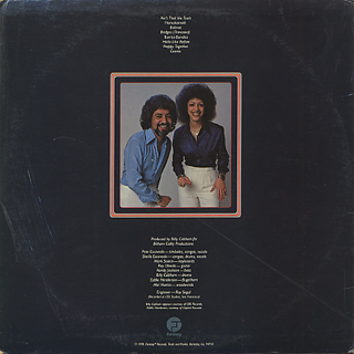 Pete & Sheila Escovedo / Happy Together back