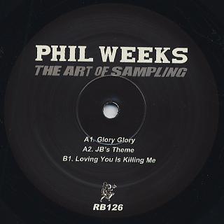 Phil Weeks / The Art Of Sampling back