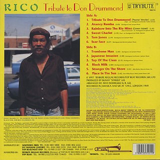 Rico Rodriguez / Tribute To Don Drummond back