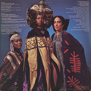 Ritchie Family / Arabian Nights back