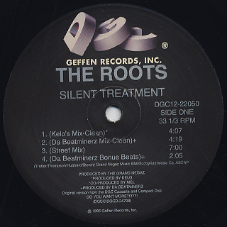 Roots / Silent Treatment