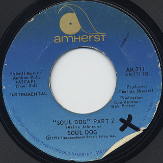 Soul Dog / Soul Dog (Part 1&2) back