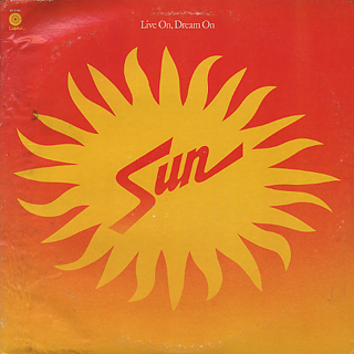 Sun / Live On, Dream On front