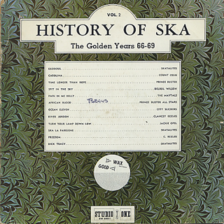 V.A. / History Of Ska Vol.2 The Golden Years 66-69
