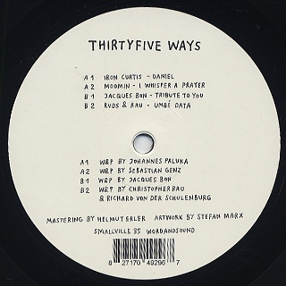 V.A. / Thirtyfive Ways front