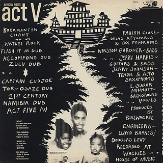 Wackies Rhythm Force / African Roots Act V back