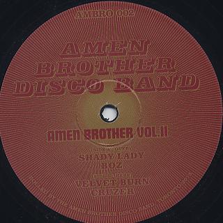 Amen Brother Disco Band / Amen Brother Vol.II