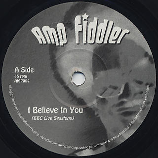 Amp Fiddler / I Believe In You front