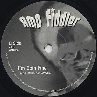 Amp Fiddler / I Believe In You back