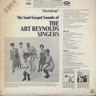 Art Reynolds Singers / The Soul-Gospel Sounds Of back