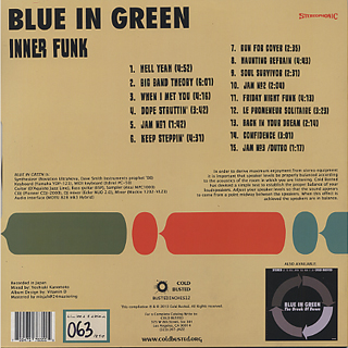 Blue In Green / Inner Funk back