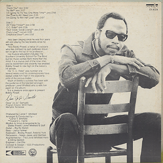 Bobby Powell / THank You back