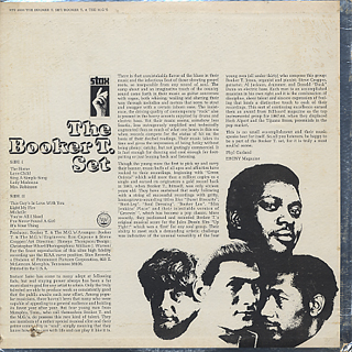 Booker T. & The M.G.'s / The Booker T. Set back