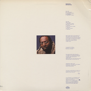Curtis Mayfield / Do It All Night back
