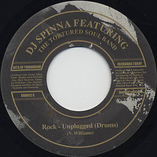 DJ Spinna / Rock (Unplugged) (VG+) back