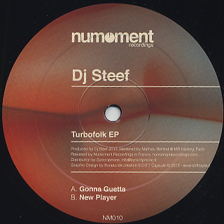 DJ Steef / Turbofolk EP front