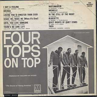 Four Tops / On Top back