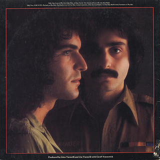 Gino Vannelli / The Gist Of The Gemini back