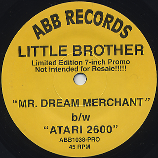 Little Brother / Mr.Dream Merchant front