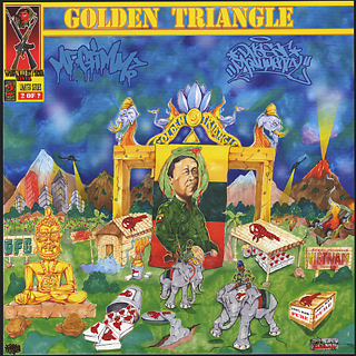 MF Grimm & Drasar Monumental / Good Morning Vietnam 2: The Golden Triangle front