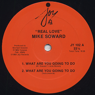 Michael Soward / Real Love label