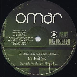 Omar / Treat You
