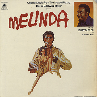 O.S.T.(Jerry Butler) / Melinda front