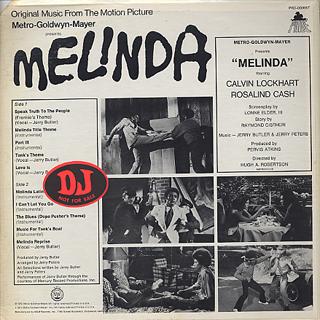 O.S.T.(Jerry Butler) / Melinda back