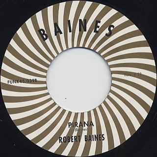 Robert Baines / Let's Shart back