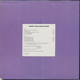 Robert John / Compositions back