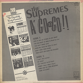 Supremes / Supremes A Go Go back